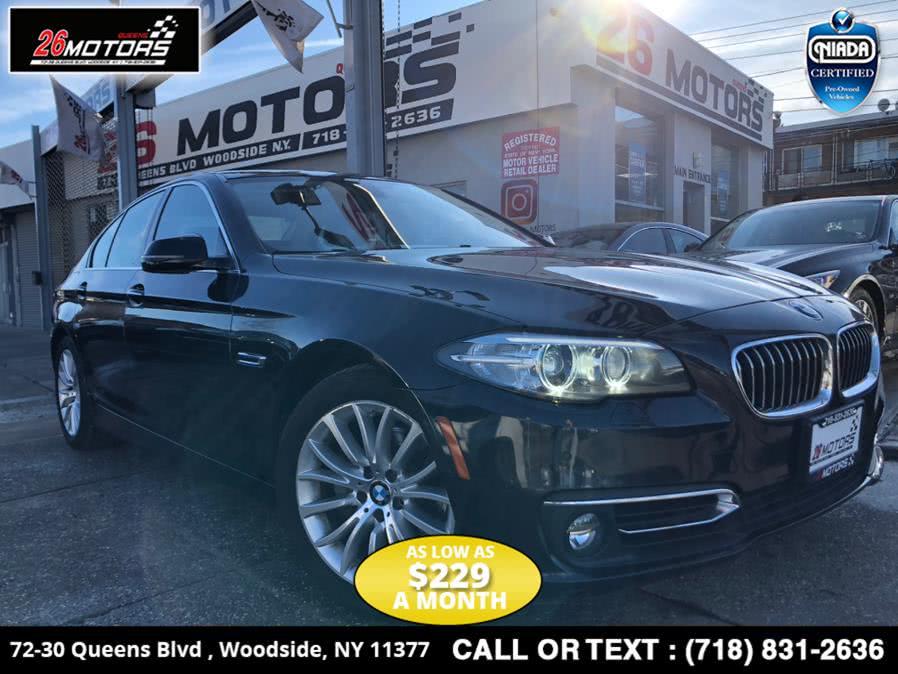 Used 2015 BMW 5 Series in Bronx, New York | 26 Motors Corp. Bronx, New York