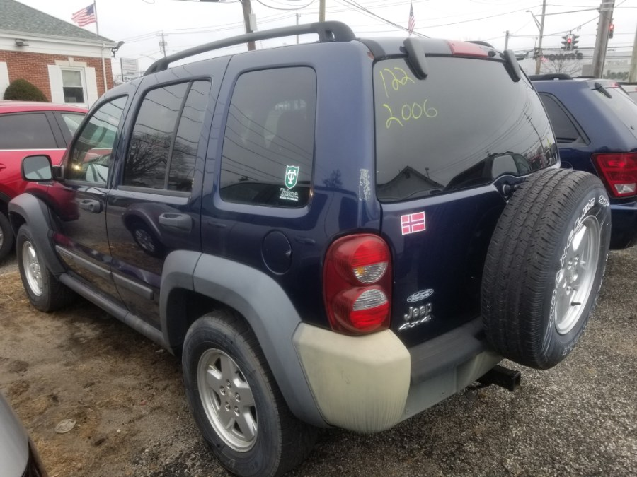 Used Jeep Liberty 4dr Sport 4WD 2006 | Romaxx Truxx. Patchogue, New York
