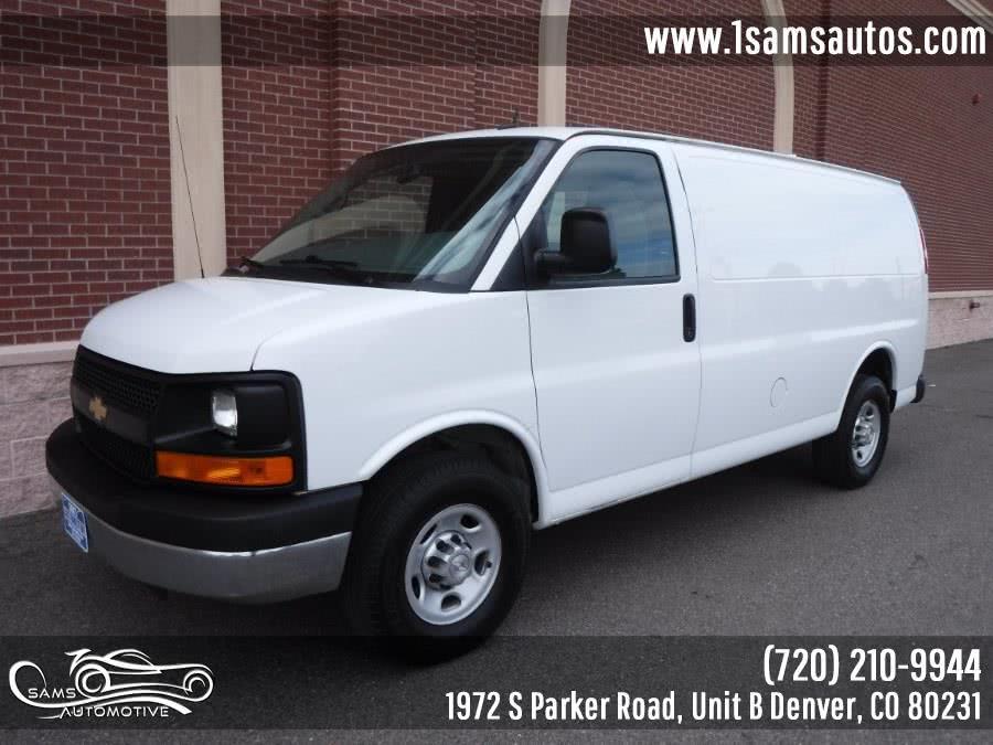 Used 2015 Chevrolet Express Cargo Van in Denver, Colorado | Sam's Automotive. Denver, Colorado