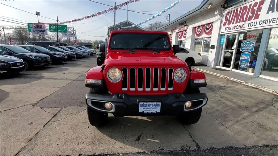 Used Jeep Wrangler Unlimited Sahara 4x4 2019 | Sunrise Auto Outlet. Amityville, New York