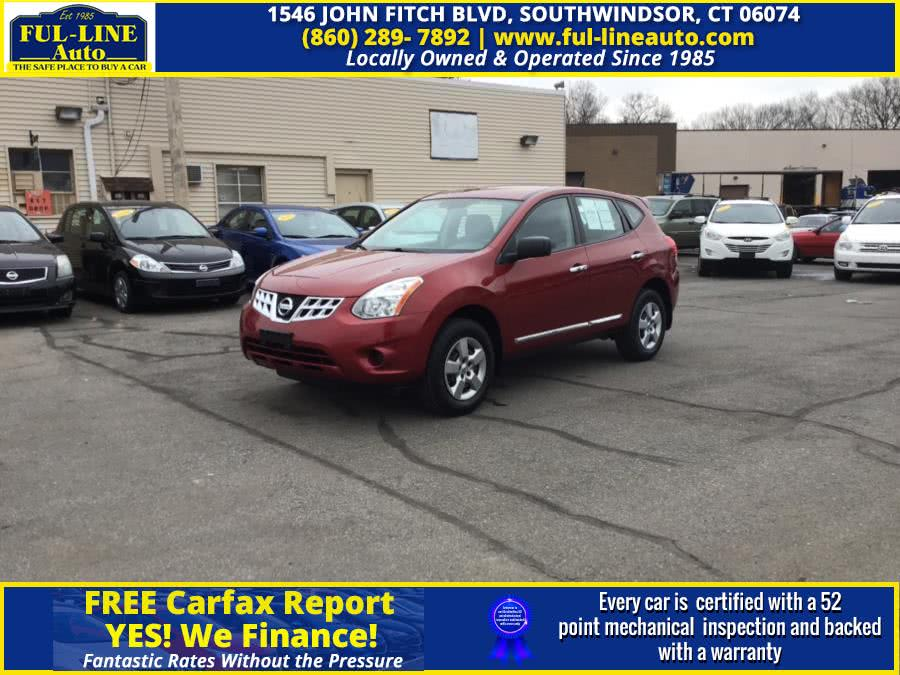 Used Nissan Rogue AWD 4dr SV 2012 | Ful-line Auto LLC. South Windsor , Connecticut
