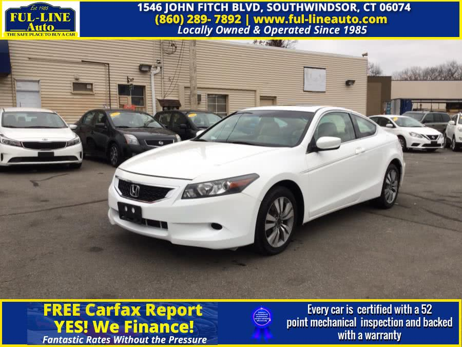 Used Honda Accord Cpe 2dr I4 Auto EX-L 2010 | Ful-line Auto LLC. South Windsor , Connecticut