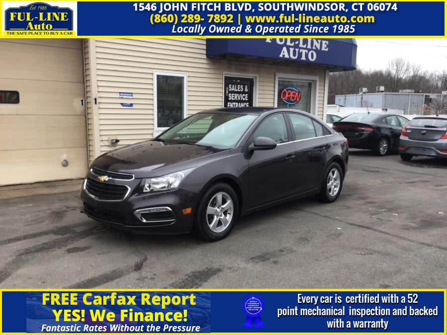Used Chevrolet Cruze Limited 4dr Sdn Auto LT w/1LT 2016 | Ful-line Auto LLC. South Windsor , Connecticut