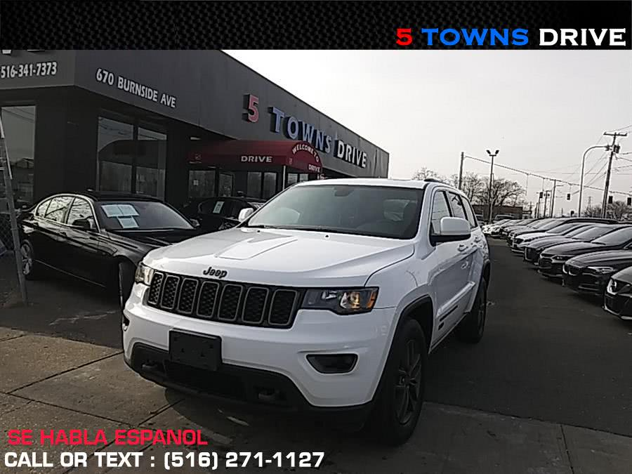 Used Jeep Grand Cherokee 4WD 4dr 75th Anniversary 2016 | 5 Towns Drive. Inwood, New York