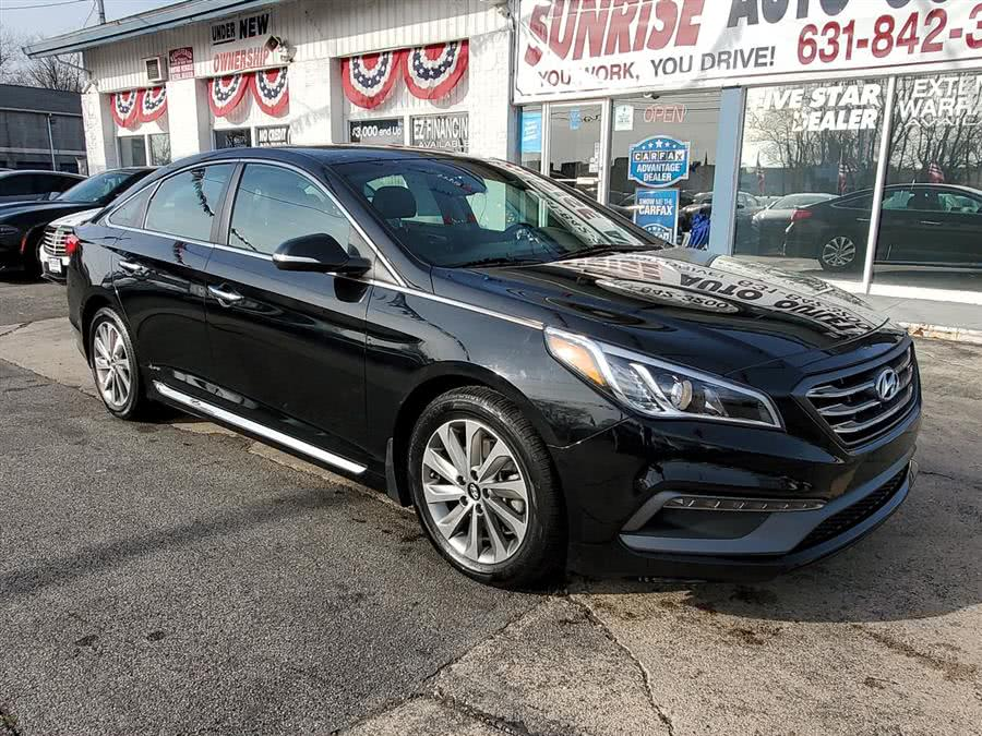 Used 2017 Hyundai Sonata in Amityville, New York | Sunrise Auto Outlet. Amityville, New York