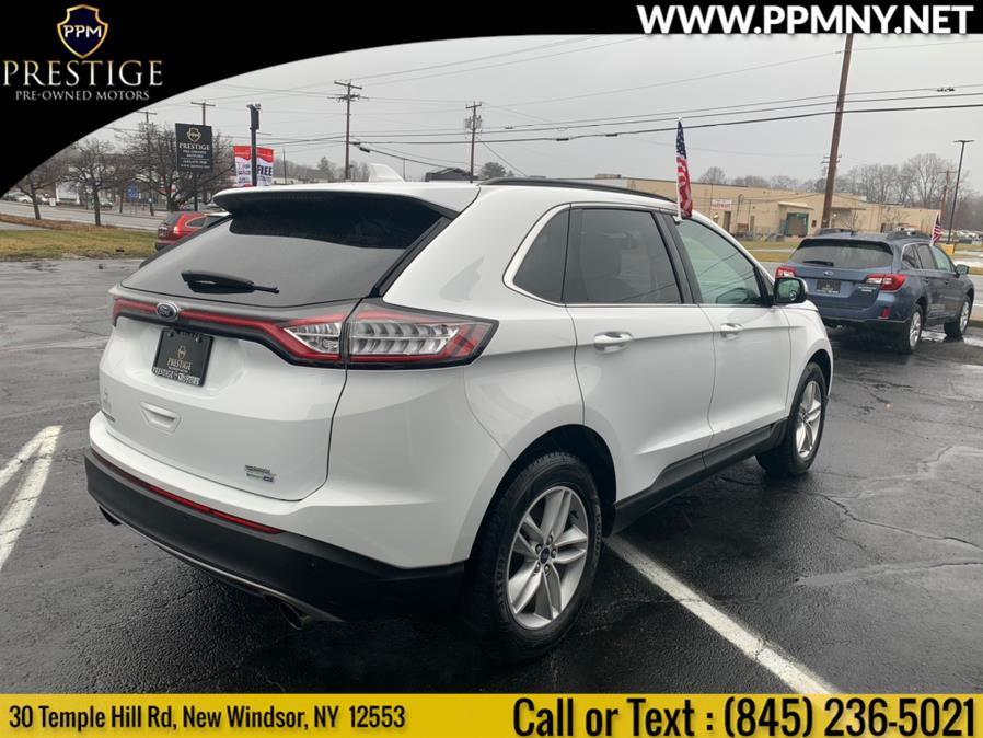 Used Ford Edge SEL AWD 2017 | Prestige Pre-Owned Motors Inc. New Windsor, New York