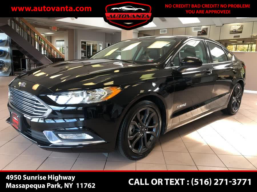 Used 2018 Ford Fusion Hybrid in Massapequa Park, New York | Autovanta. Massapequa Park, New York