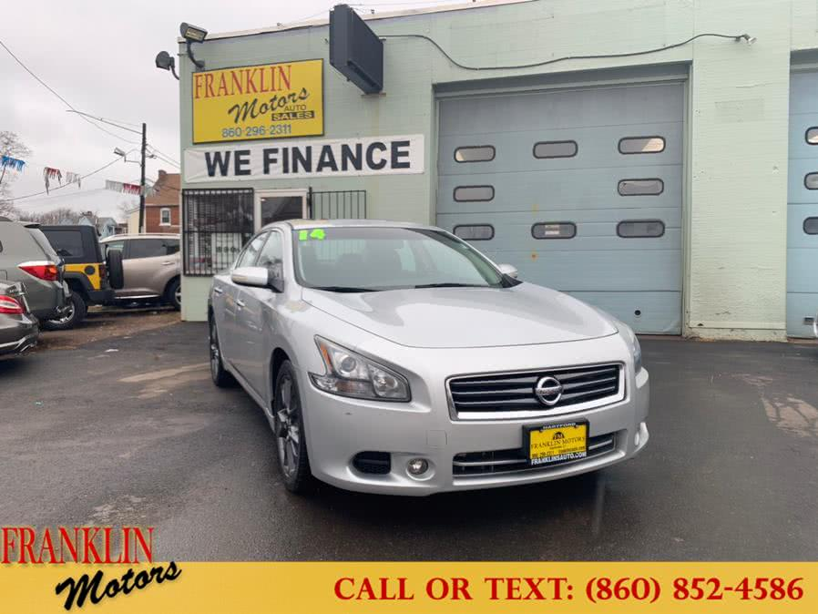 Used 2014 Nissan Maxima in Hartford, Connecticut | Franklin Motors Auto Sales LLC. Hartford, Connecticut