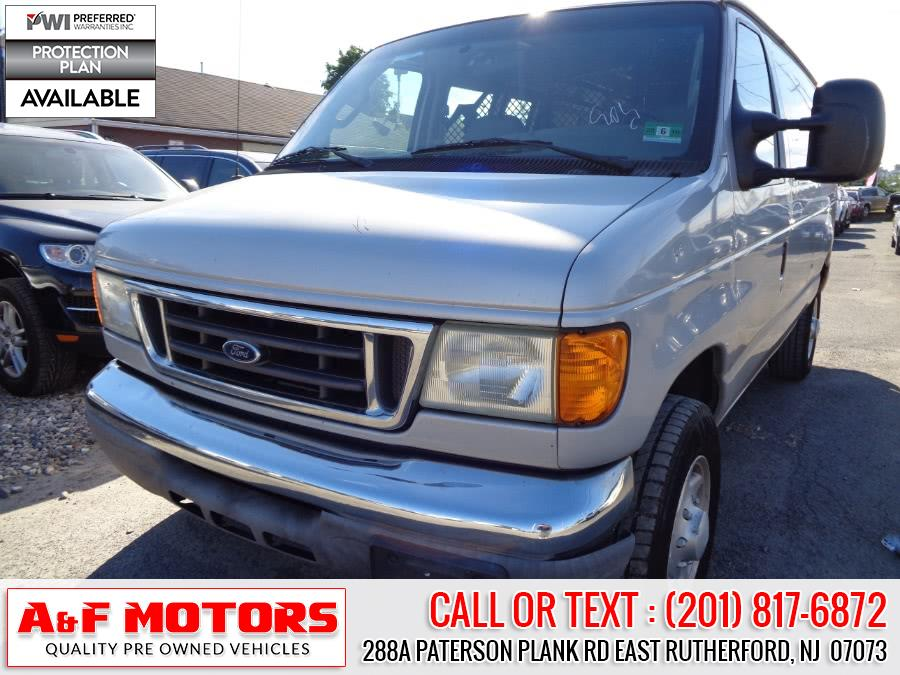 Used 2006 Ford Econoline Cargo Van in East Rutherford, New Jersey | A&F Motors LLC. East Rutherford, New Jersey