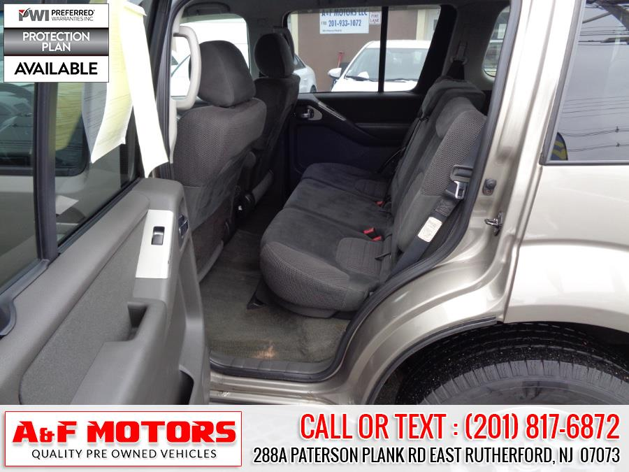2007 Nissan Pathfinder 4WD 4dr S, available for sale in East Rutherford, New Jersey | A&F Motors LLC. East Rutherford, New Jersey