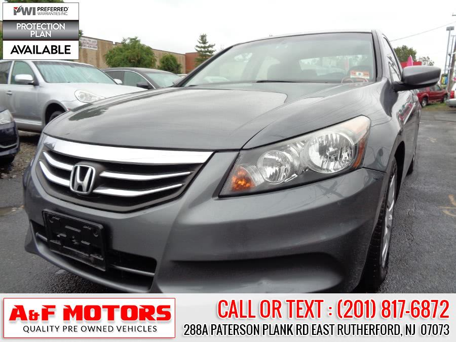 Used 2012 Honda Accord Sdn in East Rutherford, New Jersey | A&F Motors LLC. East Rutherford, New Jersey