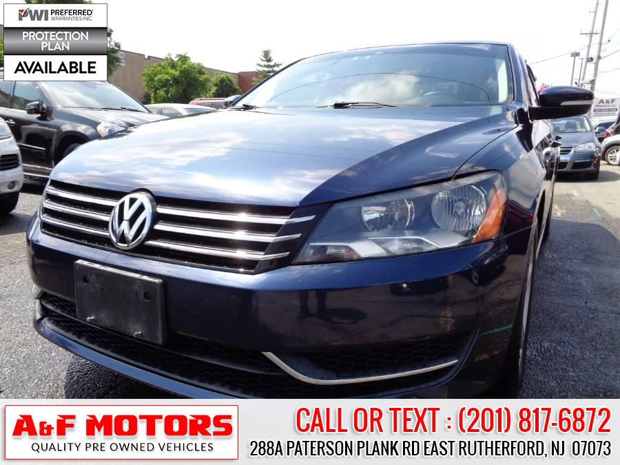 Used 2013 Volkswagen Passat in East Rutherford, New Jersey | A&F Motors LLC. East Rutherford, New Jersey