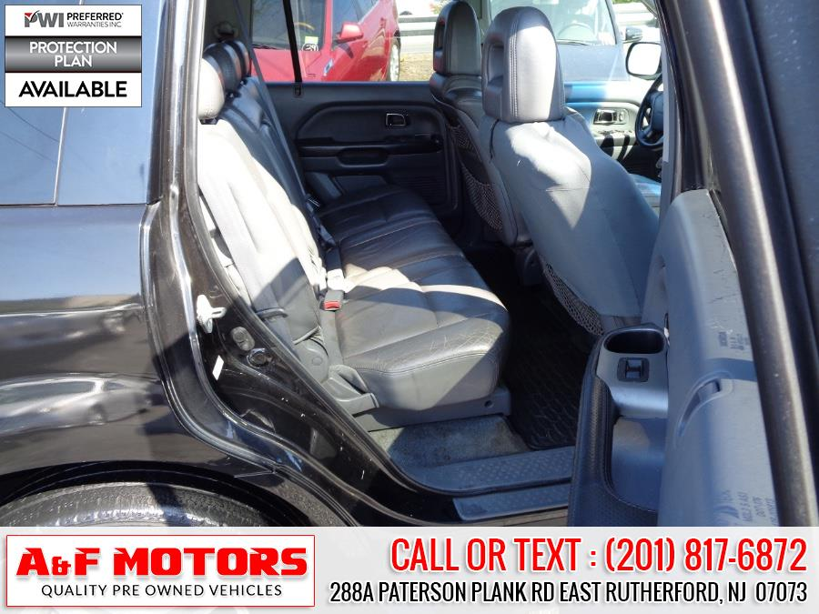 2004 Honda Pilot 4WD EX Auto w/Leather/Nav, available for sale in East Rutherford, New Jersey   A&F Motors LLC. East Rutherford, New Jersey