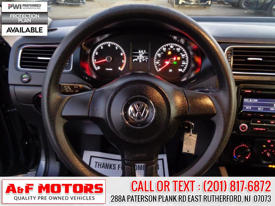2012 Volkswagen Jetta Sedan 4dr Auto S, available for sale in East Rutherford, New Jersey | A&F Motors LLC. East Rutherford, New Jersey