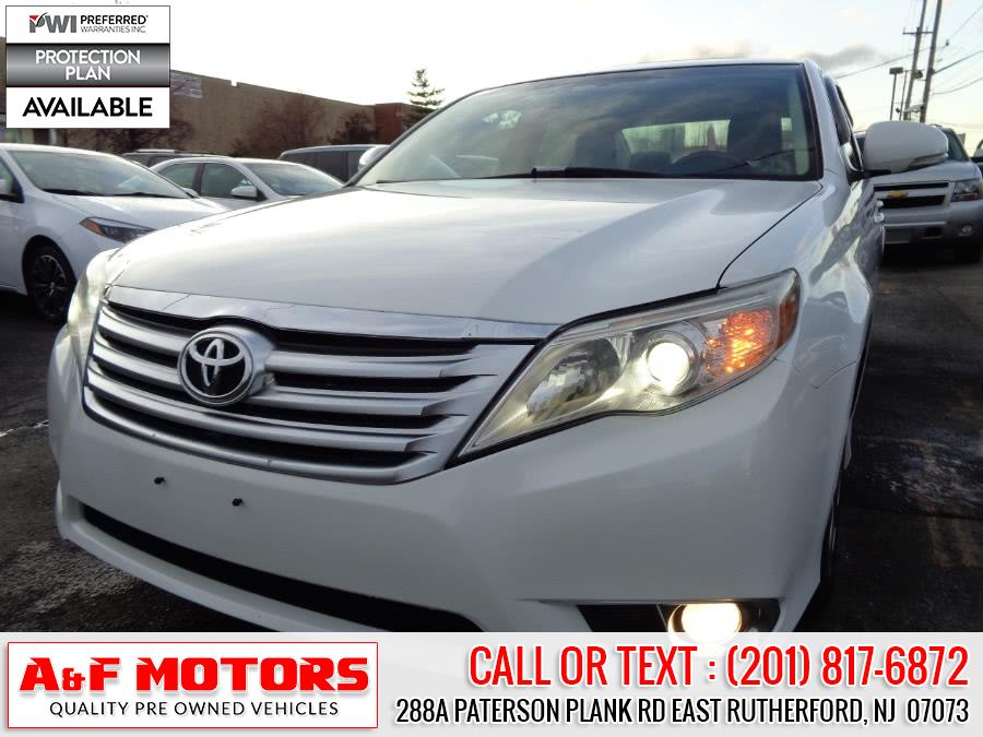 Used Toyota Avalon 4dr Sdn Limited (Natl) 2011 | A&F Motors LLC. East Rutherford, New Jersey