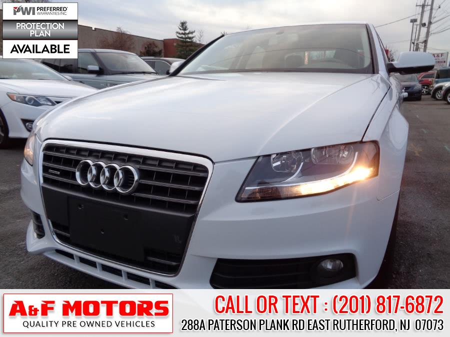 Used 2012 Audi A4 in East Rutherford, New Jersey | A&F Motors LLC. East Rutherford, New Jersey