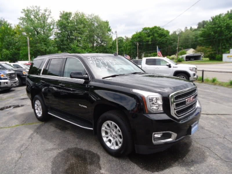 Used GMC Yukon 4WD 4dr SLT 2018 | Chapdelaine Truck Center Inc.. Lunenburg, Massachusetts