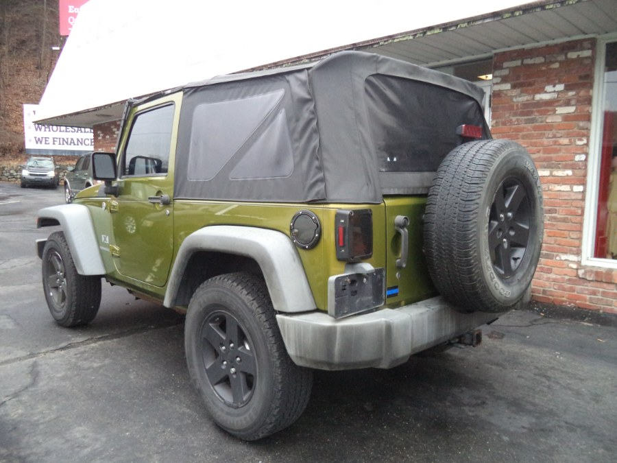 2008 Jeep Wrangler 4WD 2dr X, available for sale in Naugatuck, Connecticut | Riverside Motorcars, LLC. Naugatuck, Connecticut